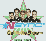 NSYNC - Get to the Show Game