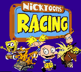 Nicktoons Racing on gbc Game