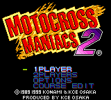 Motocross Maniacs 2 Game