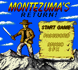 Montezuma's Return! (En,Es) Game