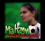 Mia Hamm Soccer Shootout Game