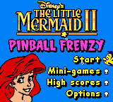 Little Mermaid II, The - Pinball Frenzy (En,Fr,De,Es,It) Game