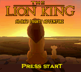 Lion King, The - Simba's Mighty Adventure Game