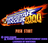 International Superstar Soccer 2000 Game