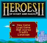 Heroes of Might and Magic II (En,Fr,De) Game