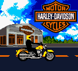 Harley-Davidson Motor Cycles - Race Across America Game