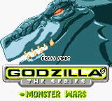 Godzilla - The Series - Monster Wars (En,Fr,De) Game