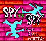 Spy vs. Spy (Japan) on gbc