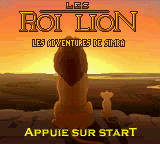Roi Lion, Les - Les Adventures de Simba (France)