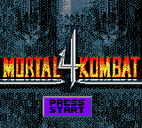 Mortal Kombat 4 (Germany)