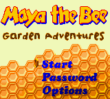Maya the Bee - Garden Adventures (Europe) (En,Fr,De,Es)