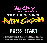 Emperor's New Groove, The (Europe) (En,Fr,De,Es,It)