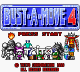 Bust-A-Move 4 (USA, Europe) Game