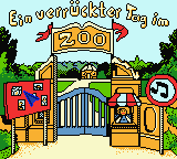 Benjamin Bluemchen - Ein verrueckter Tag im Zoo (Germany) Game