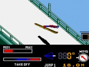 Konami Winter Games Game