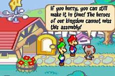 Mario and Luigi RPG Wariance