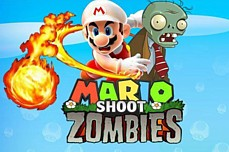 Mario Shoot Zombies Game