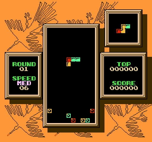 Tetris 2 - Nintendo (NES) Game