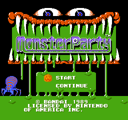Monster Party Game