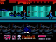 The Punisher on nes
