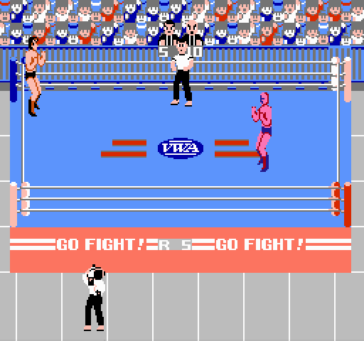 Pro Wrestling on nes game