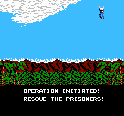 Operation Wolf on nes game