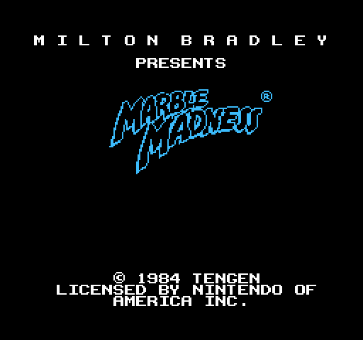 Marble Madness on nes game