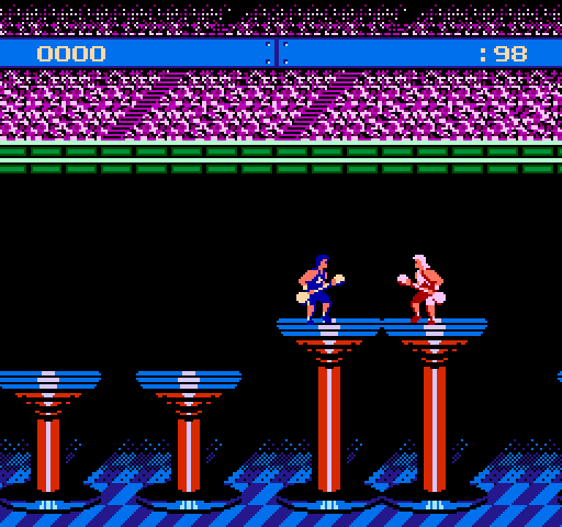 American Gladiators on nes game