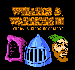 Wizards & Warriors III - Kuros - Visions of Power