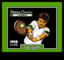 Jimmy Connors Tennis on nes game