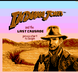 Indiana Jones and the Last Crusade (Taito)