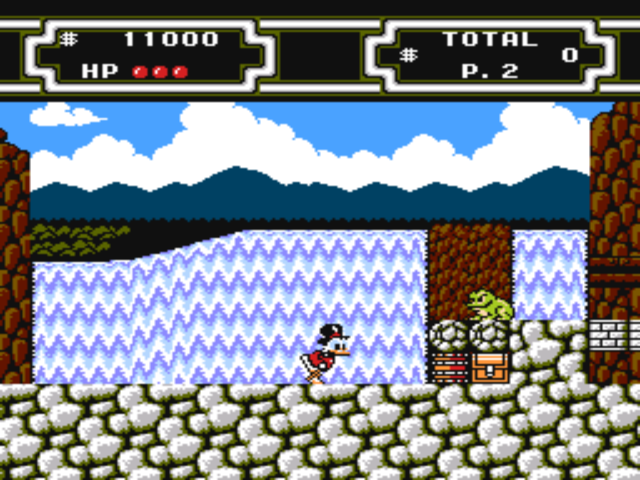 Duck Tales 2 on nes game