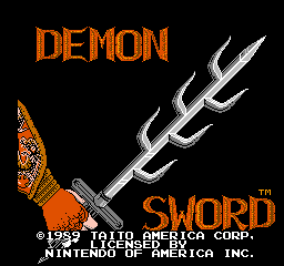 Demon Sword - Release the Power
