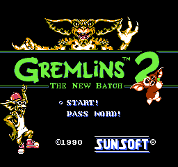 Gremlins 2 - The New Batch (Europe)