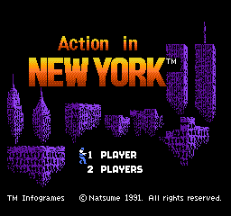 Action in New York (Europe)