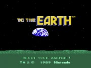 To the Earth