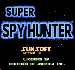 Super Spy Hunter Game