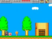Wonder Boy in Monster Land Game