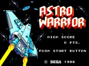 Hang-On & Astro Warrior Game