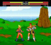 Dragon Ball Z – Buyuu Retsuden – Sega Genesis (Mega Drive) Game