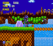 Mecha Sonic in Sonic the Hedgehog (Proof of Concept)
