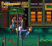 Bare Knuckle II – Shitou heno Chingonka – Streets of Rage II