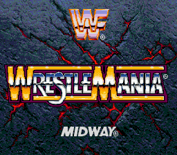 WWF WrestleMania - The Arcade Game on sega