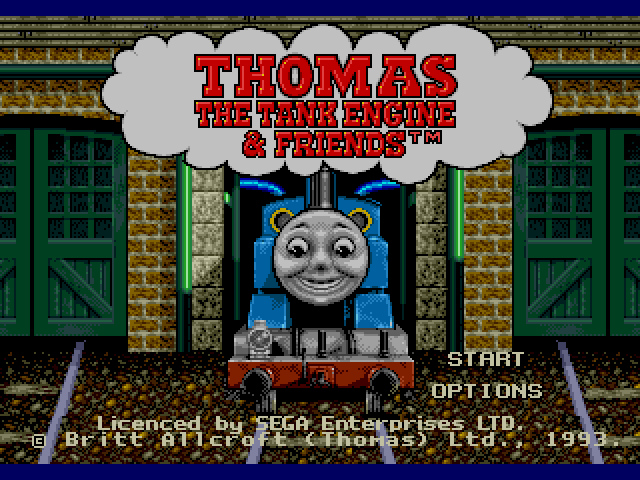 Thomas the Tank Engine & Friends on sega