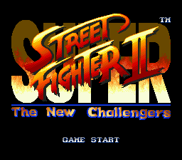 Super Street Fighter II - The New Challengers on sega