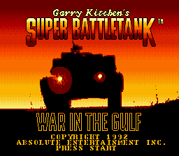 Super Battletank - War in the Gulf on sega