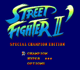 Street Fighter II' - Special Champion Edition