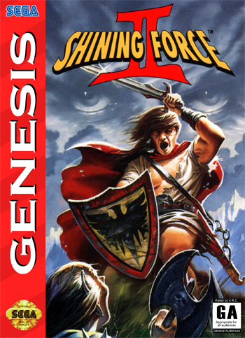 Shining Force II [Hack by Obob v1.01] (Challenge Mode)