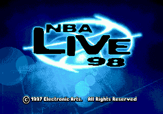 NBA Live 98 on sega
