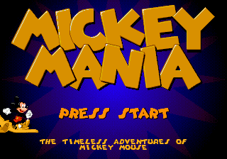 Mickey Mania - The Timeless Adventures of Mickey Mouse on sega